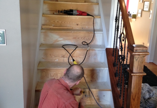 Stair Remodel In Mechanicsville Va